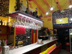 Chiosco Bar tutto in legno, Argenta, Ferrara