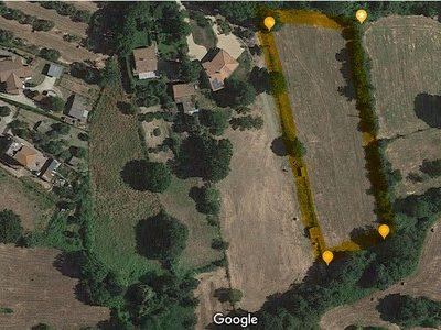 Terreno edificabile in Vendita in via degli Scaloni a Manziana, Roma